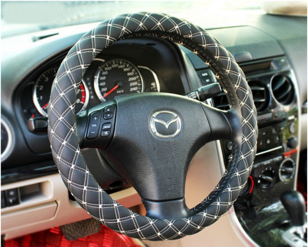 Sport PVC steering wheel cover