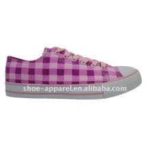 2014 nouvelles filles de mode couleur toile chaussures