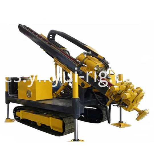 96kw Crawler Mounted Jet Grouting And Anchor Drilling Rig For Engineering Construction 5