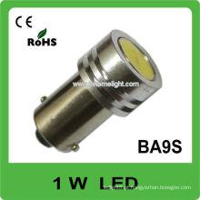 BA9S 1W carro de alta potência levou inverter lâmpadas