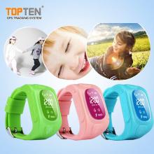 Kinder-Tracking-Geräte Wristband Locator mit Zwei-Wege-Kommunikation, Sos, Geo-Zaun (WT50-ER)