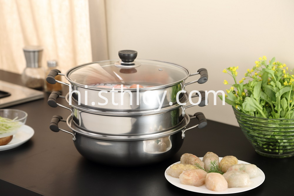 3 Tier Cooking Pot