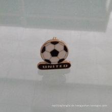 Fußball Form Anstecknadel, benutzerdefinierte spezielle Abzeichen (GZHY-LP-010)
