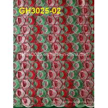 Latest Multi Color Cord Lace (GH3025-02)