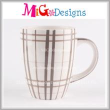 Caneca de café cerâmica quente das vendas com pintura
