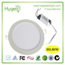 China preço de fábrica 6w AC85-277V levou painel de luz grossista 85-95LM / W levou painel / rodada levou preço do painel de luz