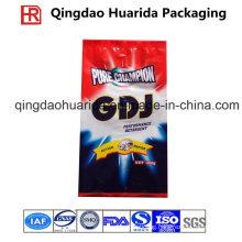 Custom Back Sealed Gusset Washing Powder Packaging Bag