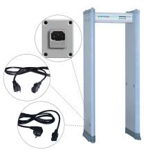 6/18 Zones Clip Check Detector de metais portátil com proteção por senha