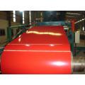 Bobina de aço revestida de cor vermelha PPGI
