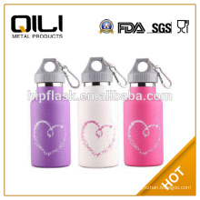 600ml single wall stainless steel wholesale personalized water bottles for kids