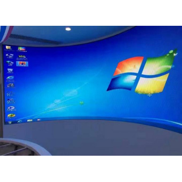 High Resolution Indoor Curved LED Display