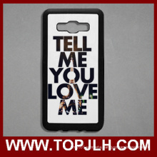 2D Sublimation Printable Blank TPU Phone Case for for Samsung J5 (2016)