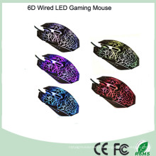Ratón óptico atado con alambre del USB de la venta al por mayor (M-65-1)