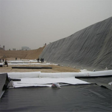 السد وطمر النفايات HDPE Pond Liner Sheet Geomembrane