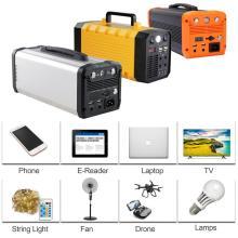 Conjunto de bateria de lítio móvel para gerador solar externo