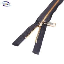 Proper price top quality zipper pull metal zipper custom