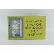 Shabby MDF Photo Frame pour Home Deco