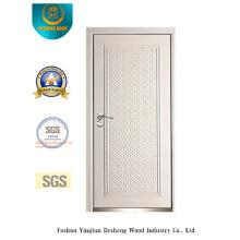 Porte de sécurité de style moderne avec la couleur blanche (B-3011)