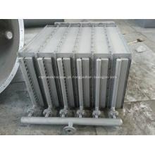 permutador de calor de tubo com aletas