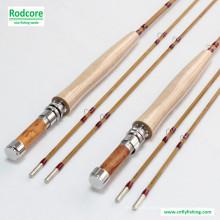 7FT6in 4wt Handgefertigte Tonkin Bambusfliegen Rod