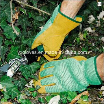 Garden Glove-Pig Leather Glove-Safety Glove-Working Glove-Industrial Glove-Labor Glove