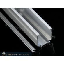 Aluminum Roman Blind Head Track and Tilt Rod