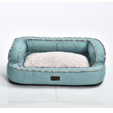 Home Elegance Freshness High Quality Luxury Cotton Cloth Fur Pet Dog Bed