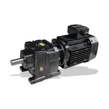 REDSUN R97 Series  helical speed reducers gearbox with 0.25~30KW AC motor