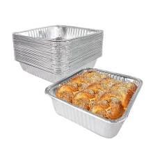 Récipient en papier d'aluminium pour la cuisson du gâteau