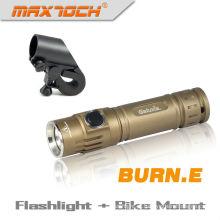 Maxtoch BURN. E bolso Cree LED bateria operado tocha