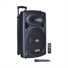 """Altavoz de alta resolución de la batería del karaoke de la solución 15 """"6827f"""