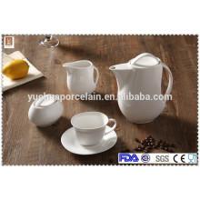 ECO-Friendly drinkware ceramic tea pots sets, tea coffee set sale