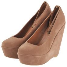 Mode-Keil-Plattform-Frauen-Kleid-Schuhe (Hcy02-824-3)