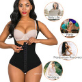 European And American Sexy Is Abdomen Corset One-Piece Breathable Breasted Body Shaper