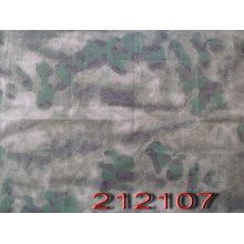 Wasteland Style Polyester Cotton Ribstop Camouflage Military Fabric