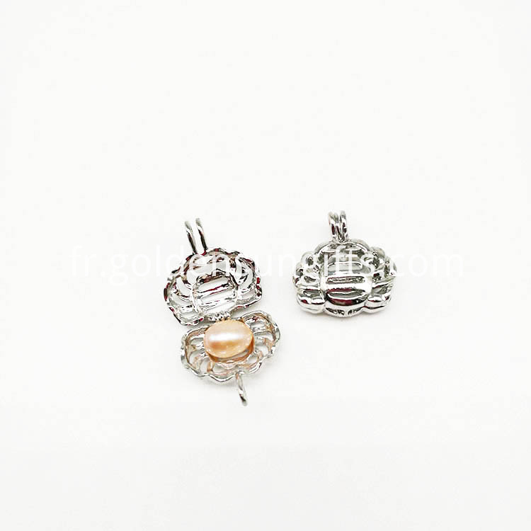 Cancer Locket Cage Pendant