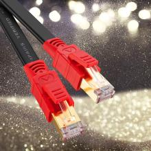 Cable de red Ethernet plano CAT8