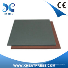 almofada de silicone de borracha para máquina de pressão térmica