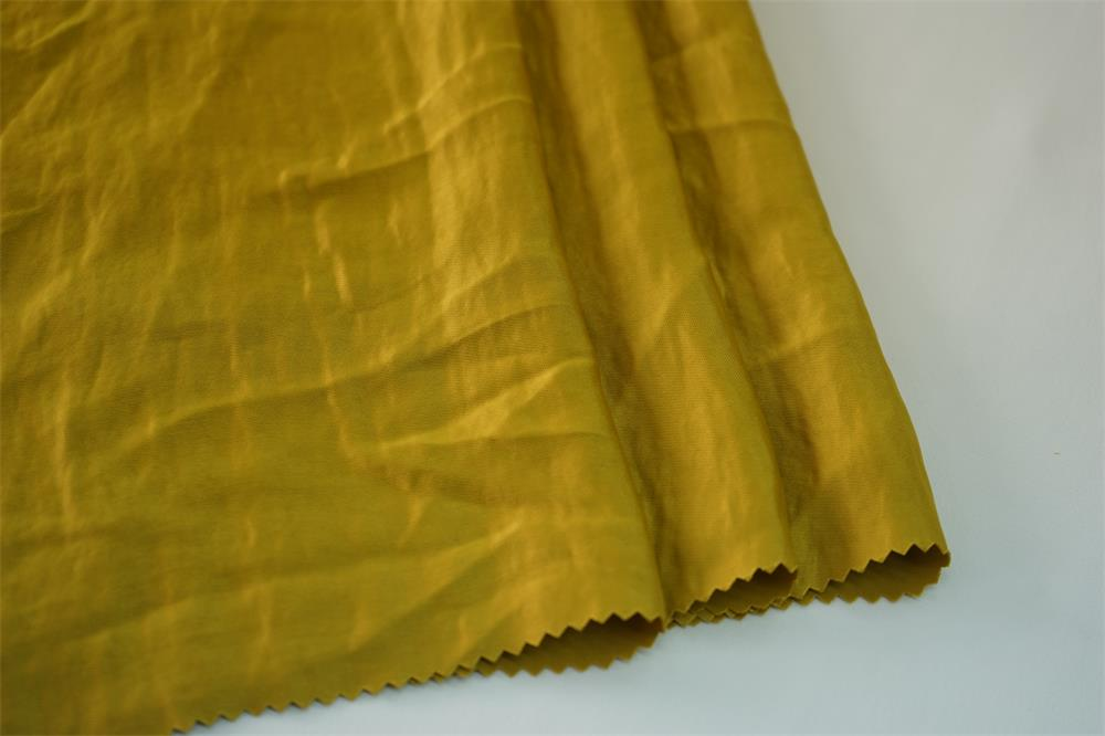 Acetate Washer Effect Twill Fabric