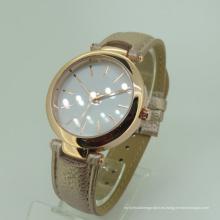 Reloj de pulsera de señora Modern Movement Leather Brecelet moderno