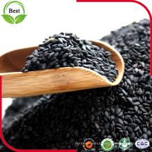 Hulled Natural Black Sesame Seeds