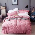 Cotton Ruffles Design Housses de couette