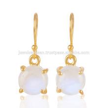 Gorgeous Rainbow Moonstone Prom set Gemstone 925 Silver Gold Vermeil Jewelry