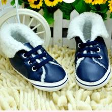 Menino quente inverno sapatas de bebê sapatos infantis (kx715 (17)