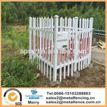outdoor pvc galvanized steel garden edging fence plastic steel lawn edging fencing