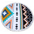 personalized round beach towels 100% cotton
