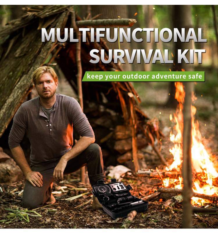 New hot survival tactical with 10 in 1
