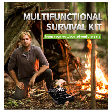 Outdoor Survival Kit mit Wasserflaschenclip
