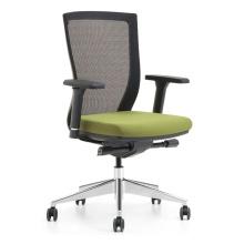 Schwarze ergonomische Mesh-Bürostühle