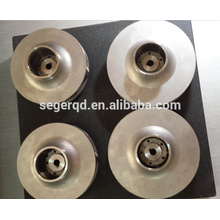 steel iron water pump impeller sand casting process